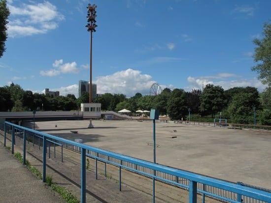 Skating track