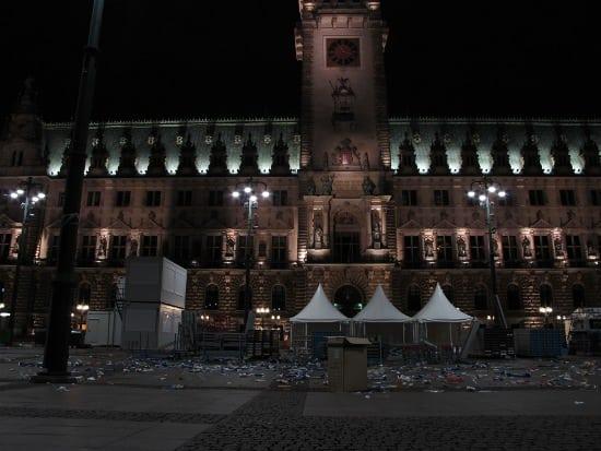 Rathaus Garbage