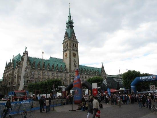 Rathaus and Triathlon