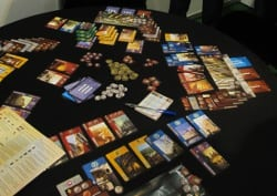 7 Wonders on the table