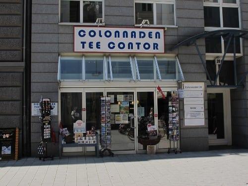 Colonnaden Tee Contor