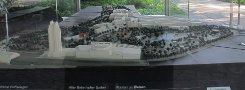 Model of Planten und Blomen
