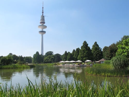 TV tower, water and another type of place to drink