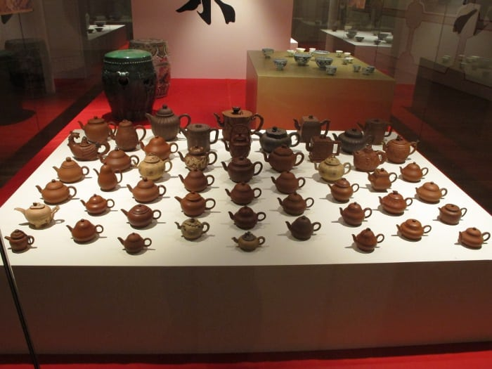 China Yixing teapots. Just a few...