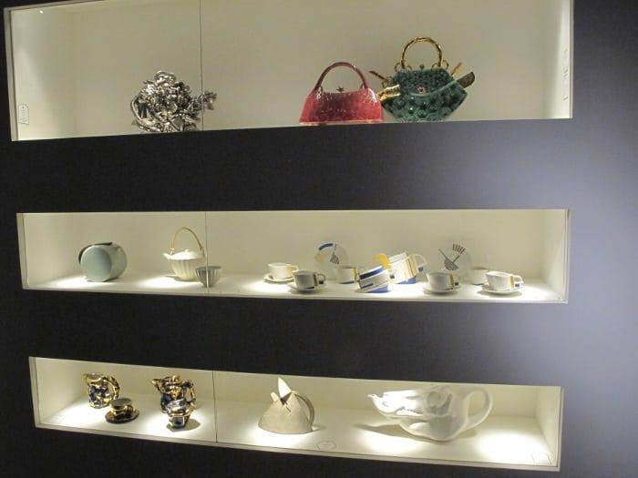 Modern design teapots