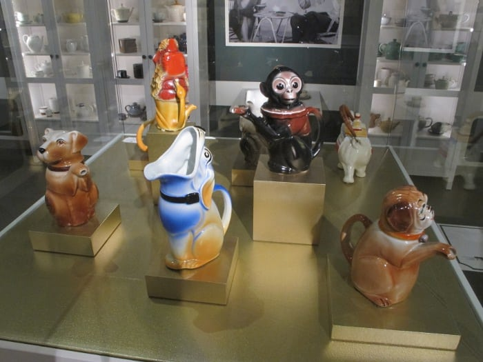 Cute animal teapots