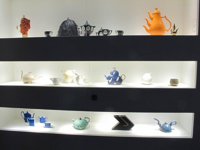 More modern teapots