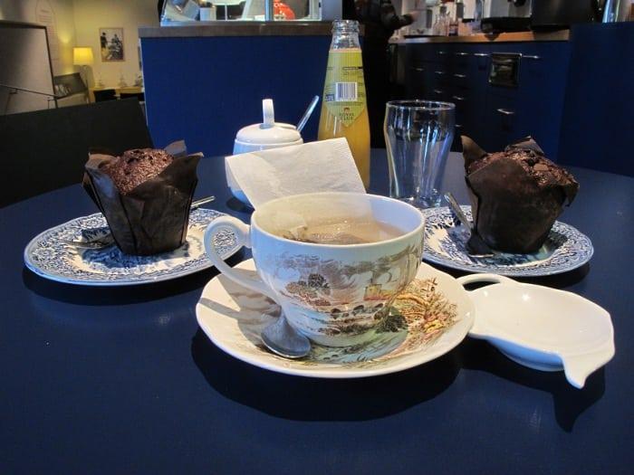 Princessehof tea (Ceylon with gojifruit, saffron and cornflower)