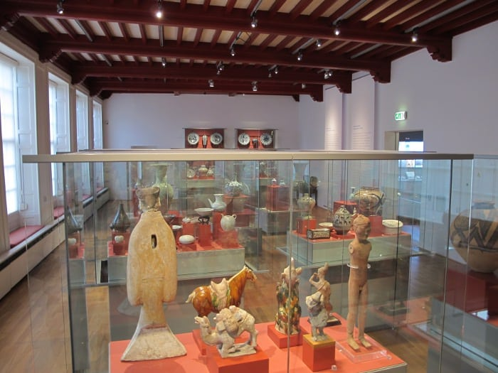 The Chinese ceramics room