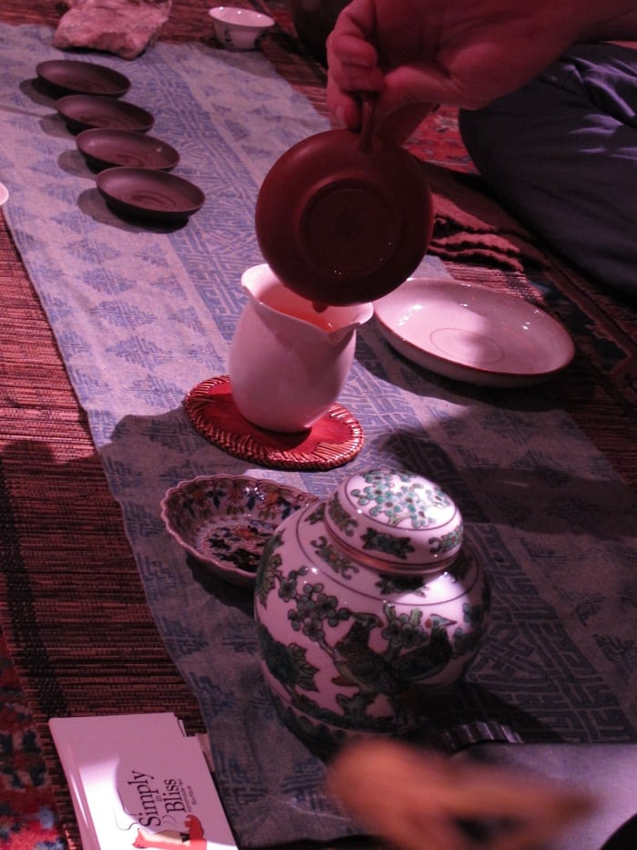 Taiwanese tea ceremony